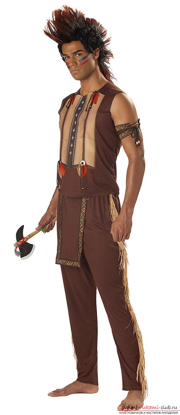Как сделать костюм воина своими руками