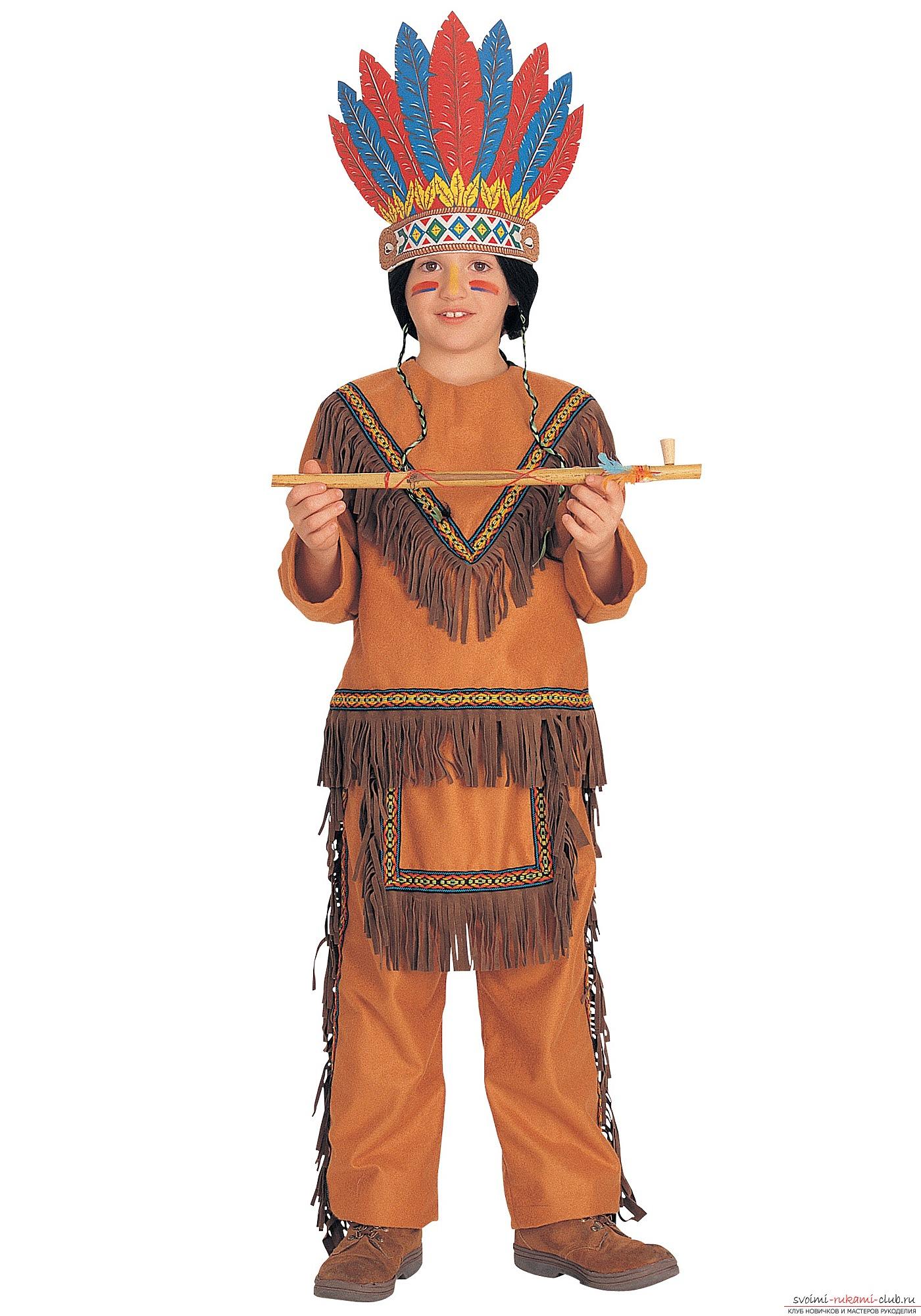 Костюм индейца своими руками - Семейный досуг 4