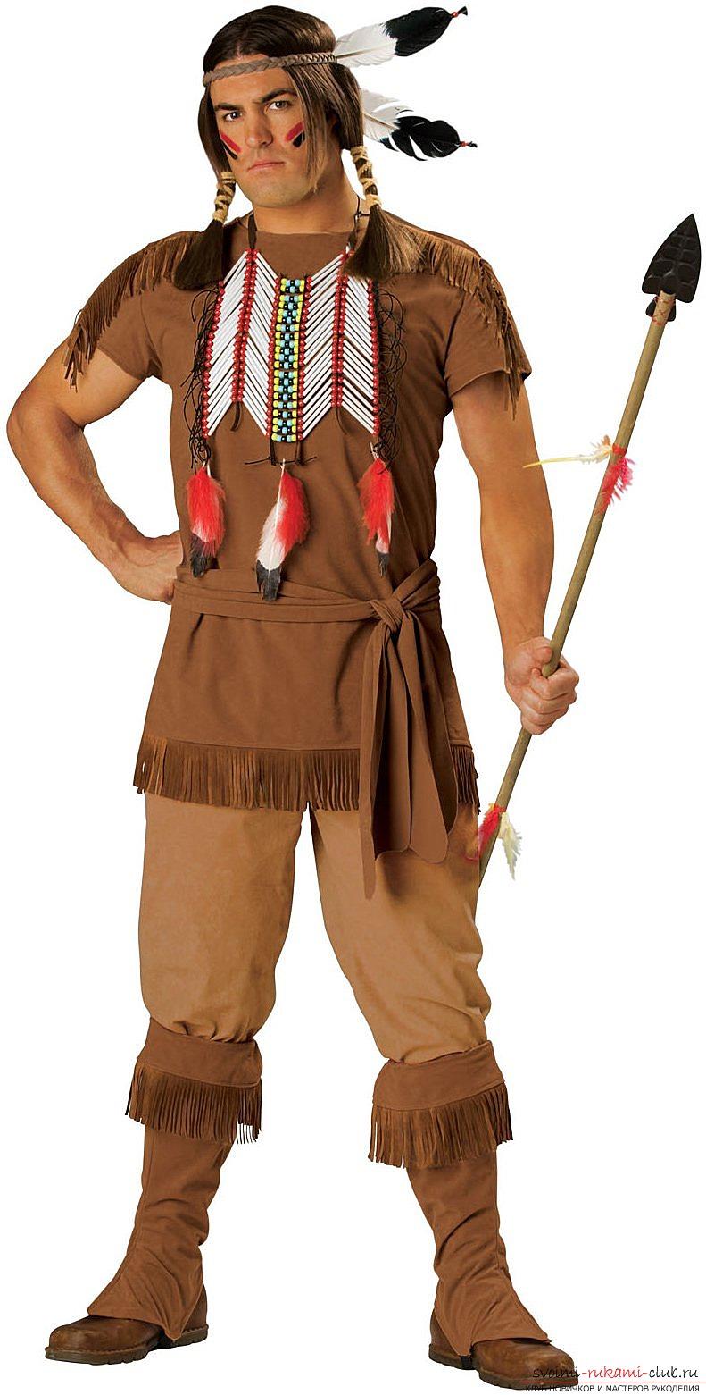 Как сделать своими руками костюм индейца для девочки своими руками фото 664