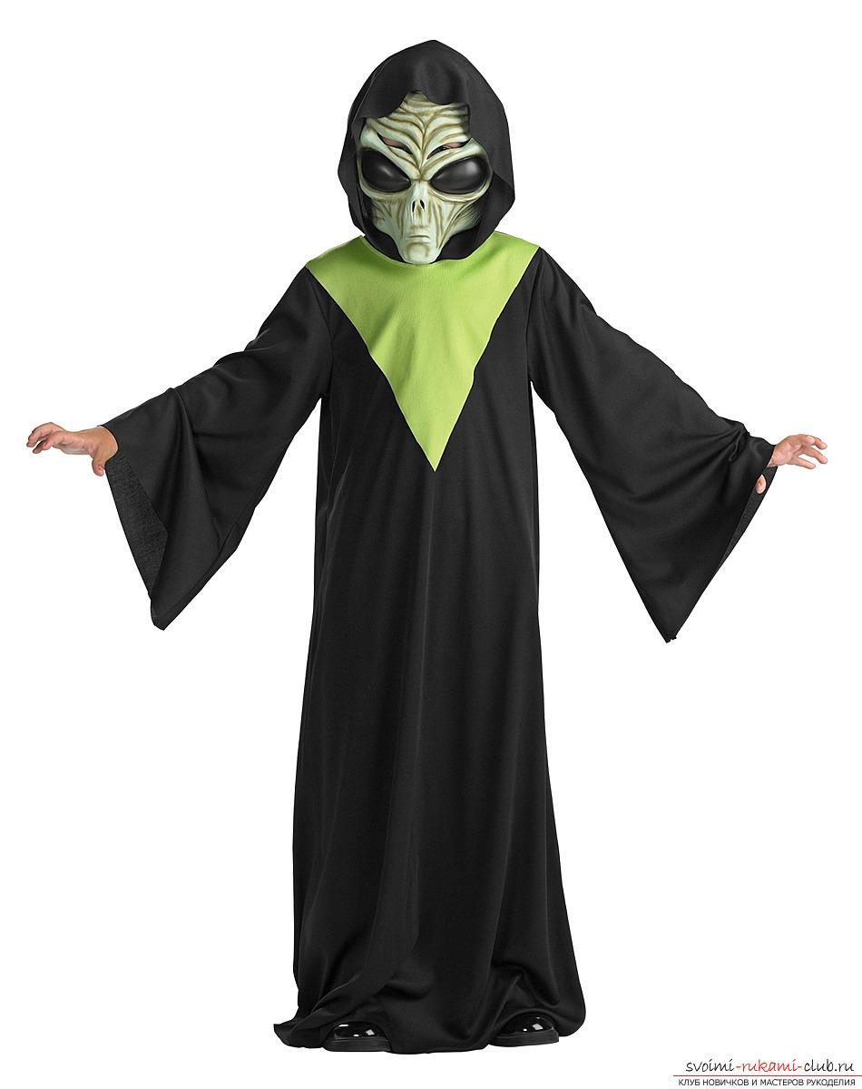 Как сделать костюм инопланетян 12