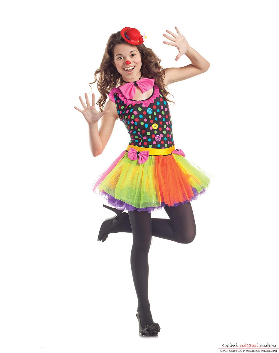 кстати, костюм клоунессы своими руками фото несколько минут для