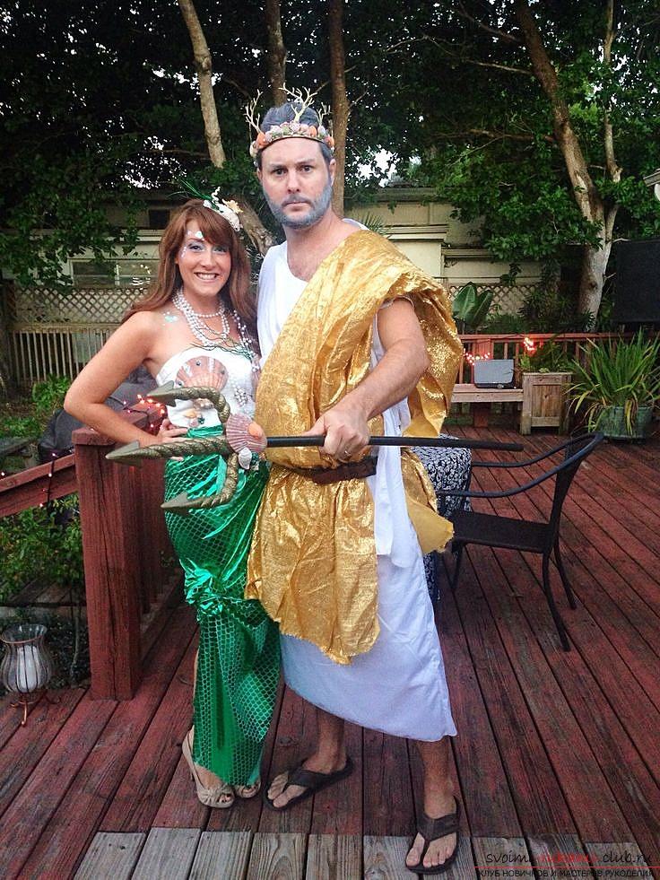 Костюм Нептуна своими руками, как сделать костюм Нептуна 223