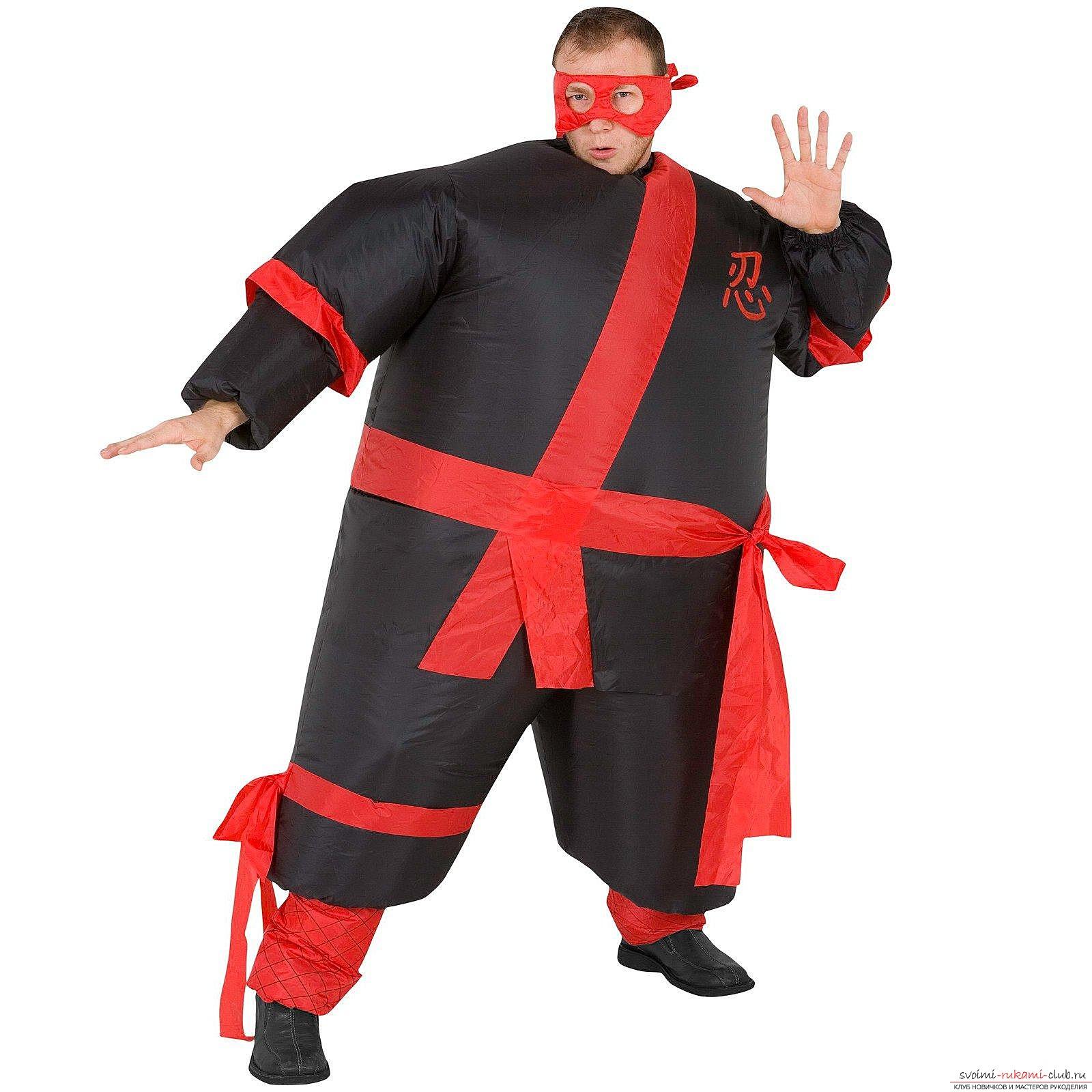 Как сшить костюм ниндзя своими руками фото 11