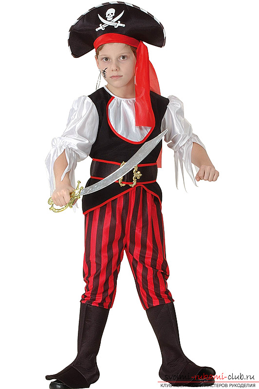 Костюм для детей пират