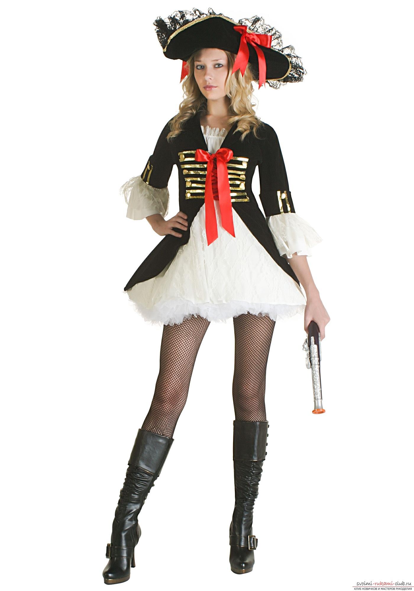костюм пиратки для взрослы картинки знаменитого