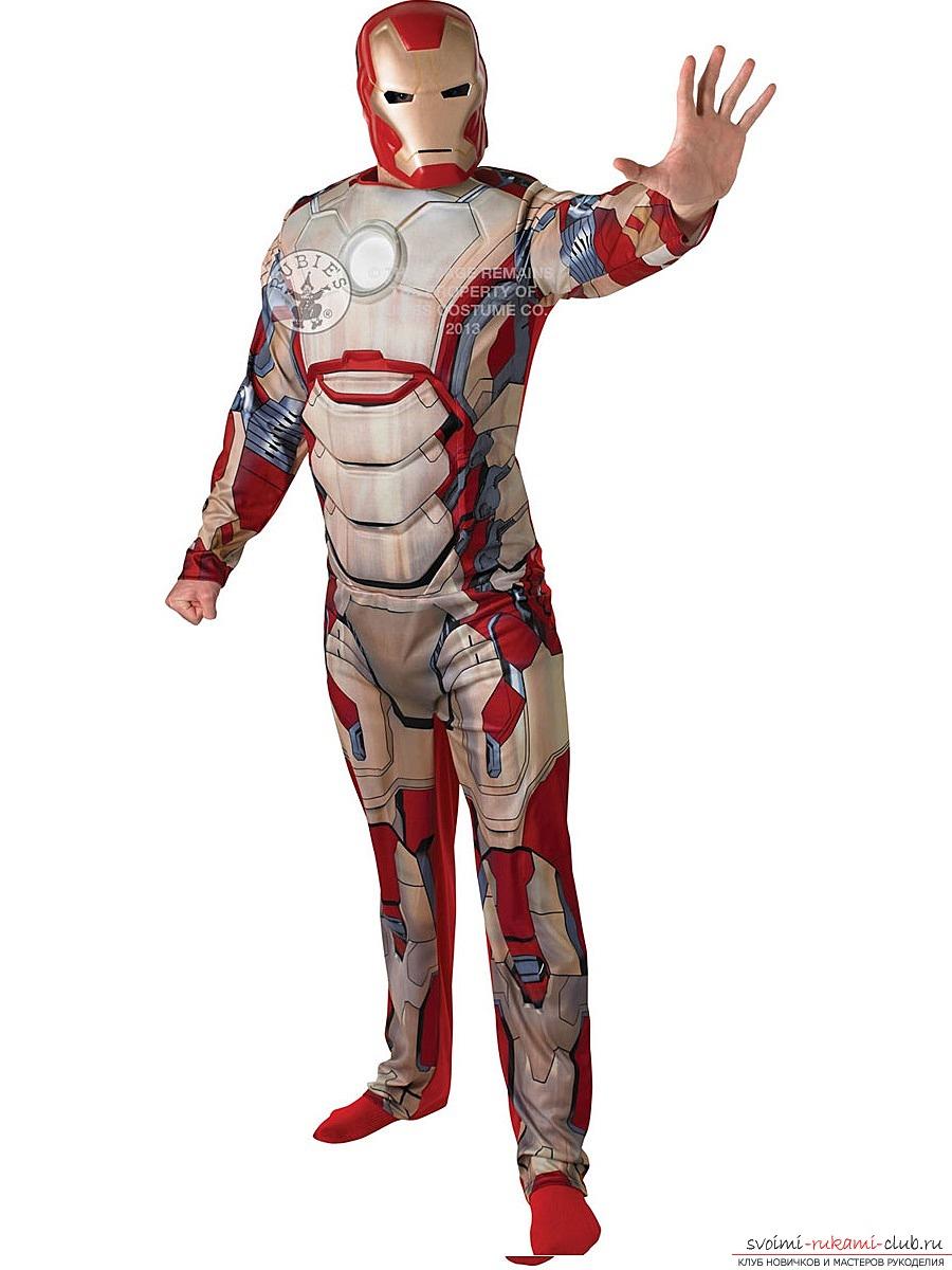 Как сделать железного человека Чертежи костюма железного 22