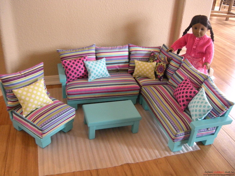 Кроватка для куклы своими руками из труб фото 713