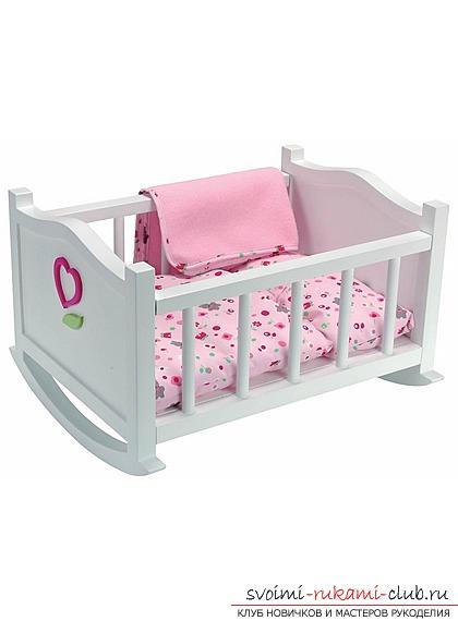 Детская кроватка своими руками для кукол