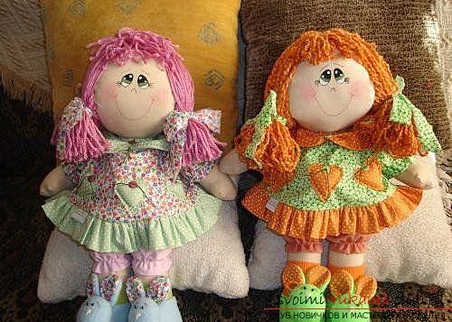 Сшитые своими руками куклы фото