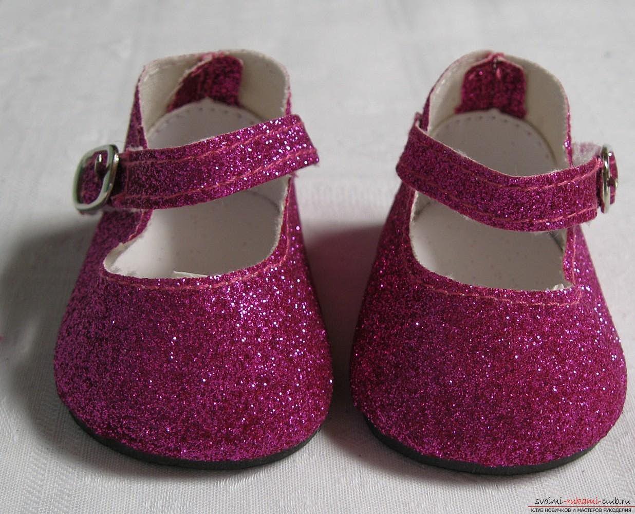 Кукольная обувь своими руками фото