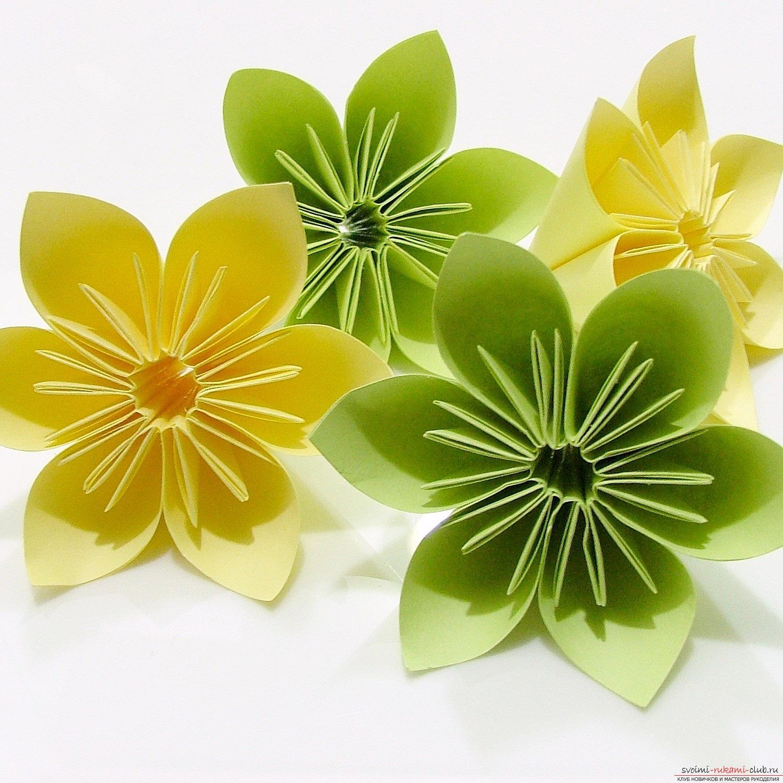 Ёлки своими руками фото оригами