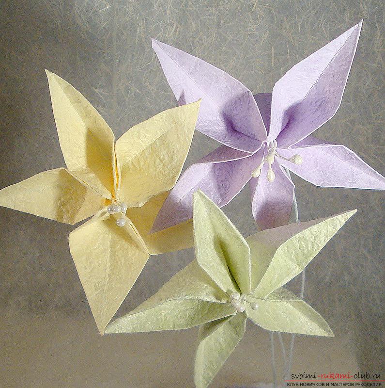 Ваза своими руками из бумаги схемы оригами