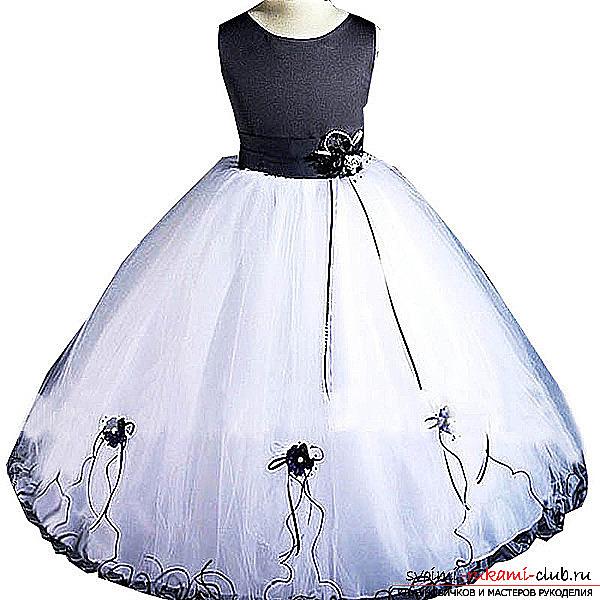 Шить платье для принцессы своими руками