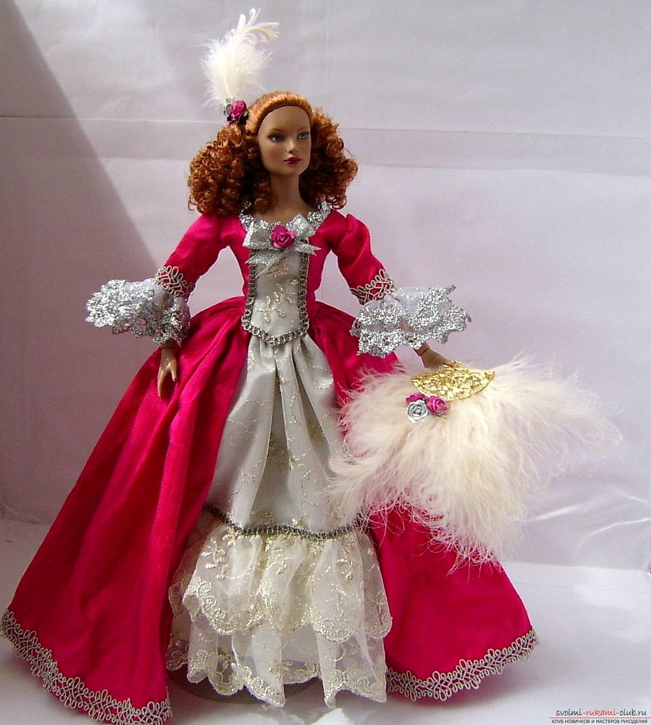 Платье для кукол монстер хай своими руками