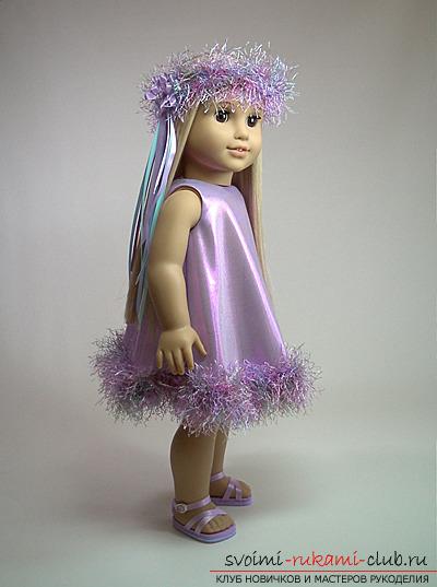Как связать одежду для куклы