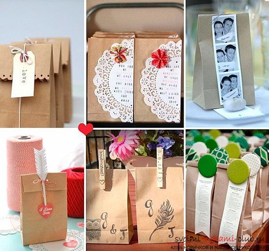 Идеи для подарков гостям своими руками