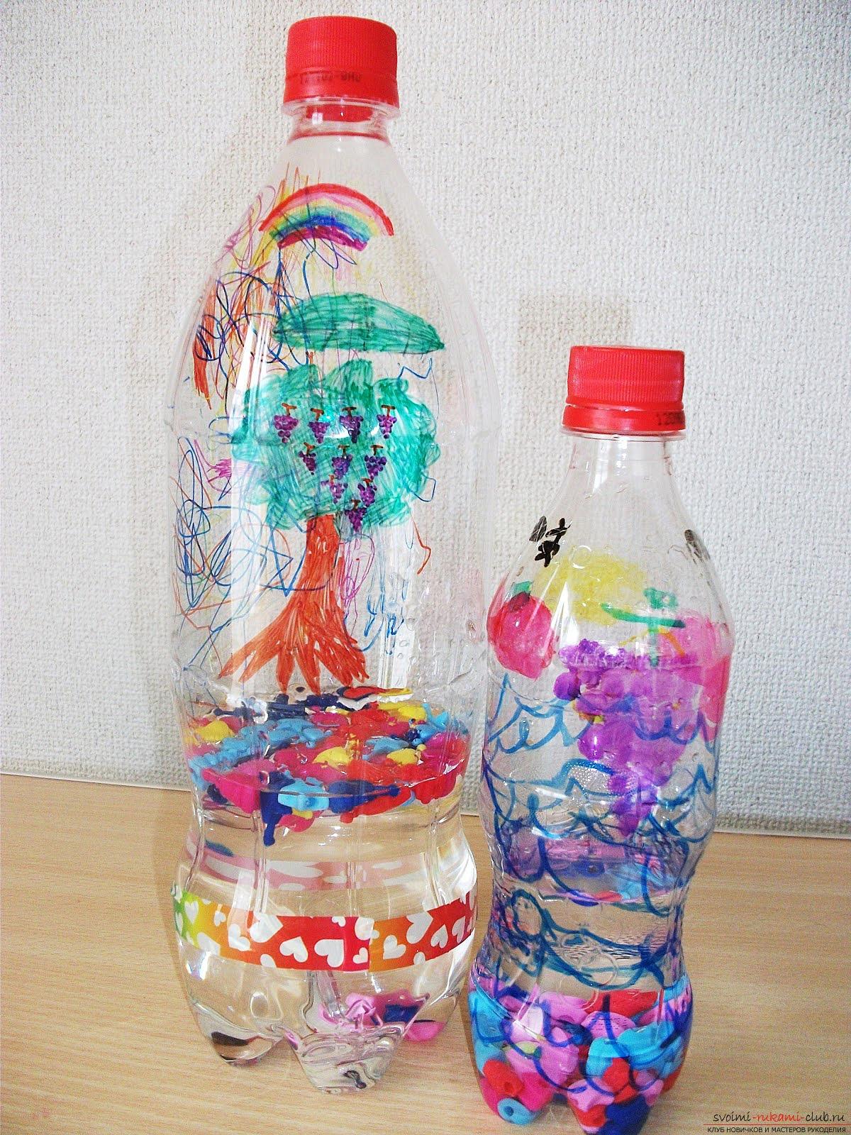 Поделки с днем из пластиковой бутылки 66