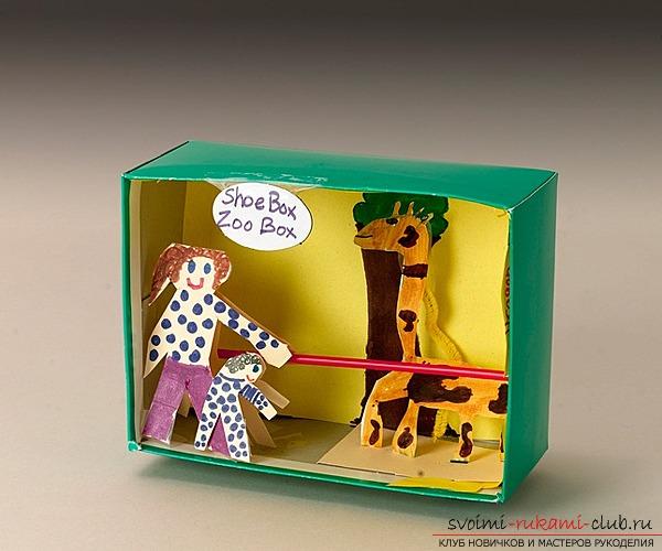 Поделка из коробочек
