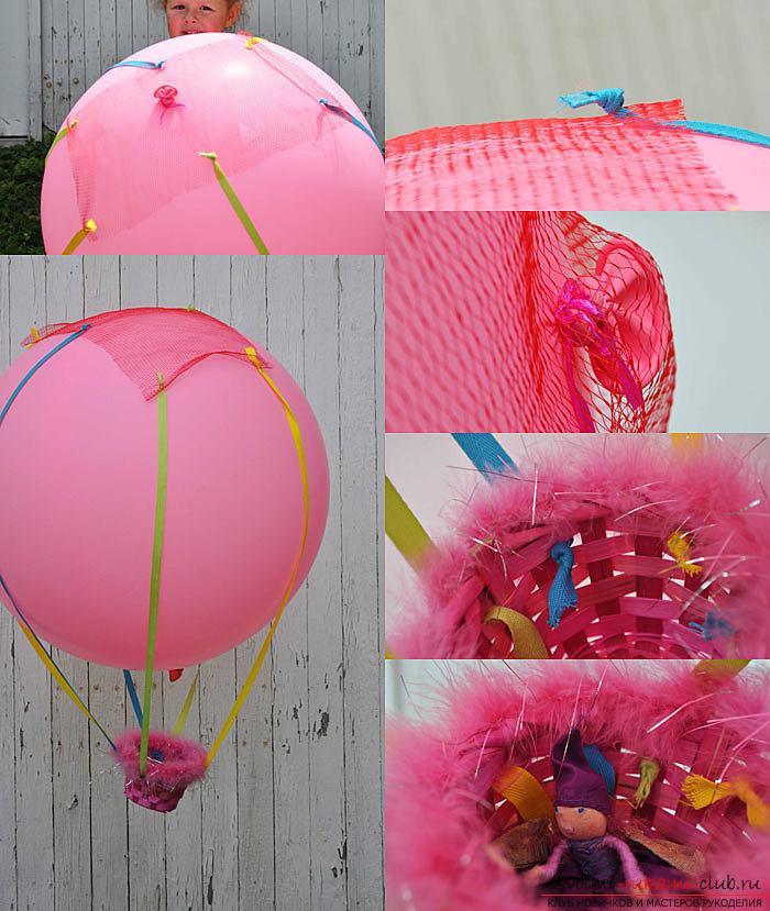 Как сделать воздушный шарик своими руками