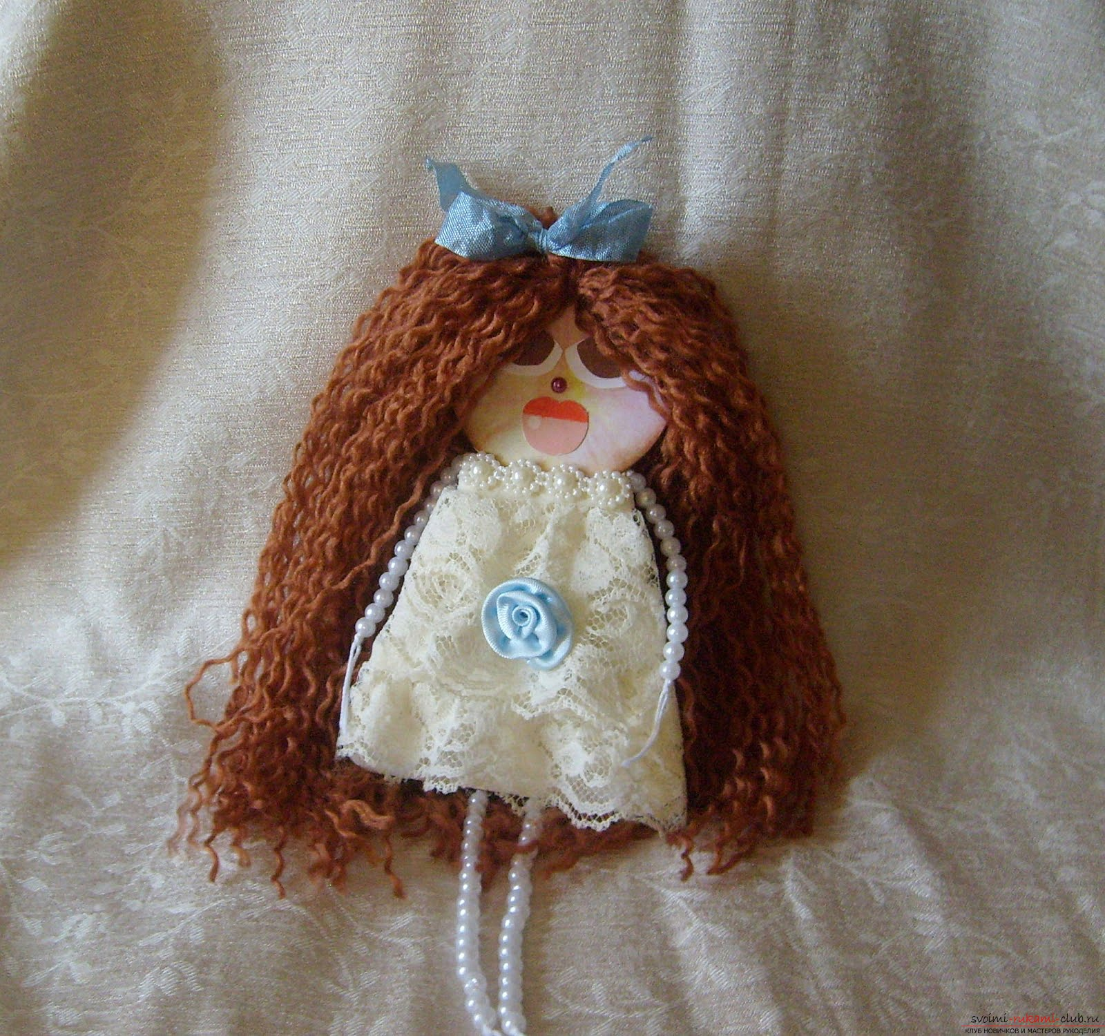 Тканевая кукла своими руками