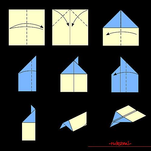 Самолет-оригами. - фото (20)