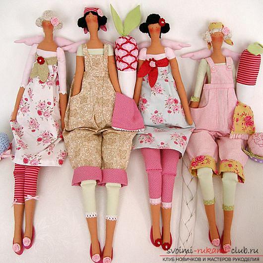 и красивые тряпичные куклы