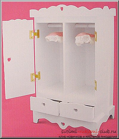 Мебель для куклы своими руками фото 579