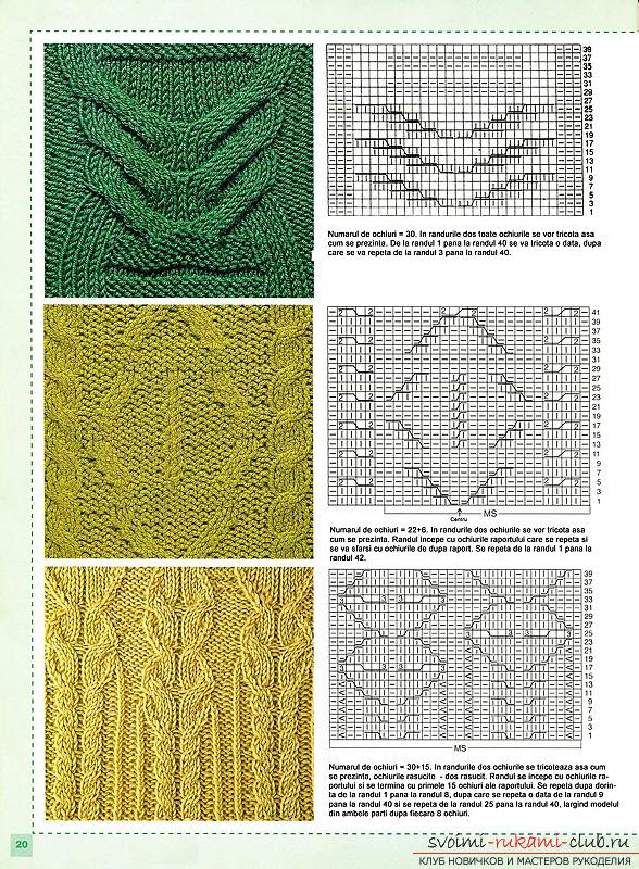 вязание ажурных шапок схемы