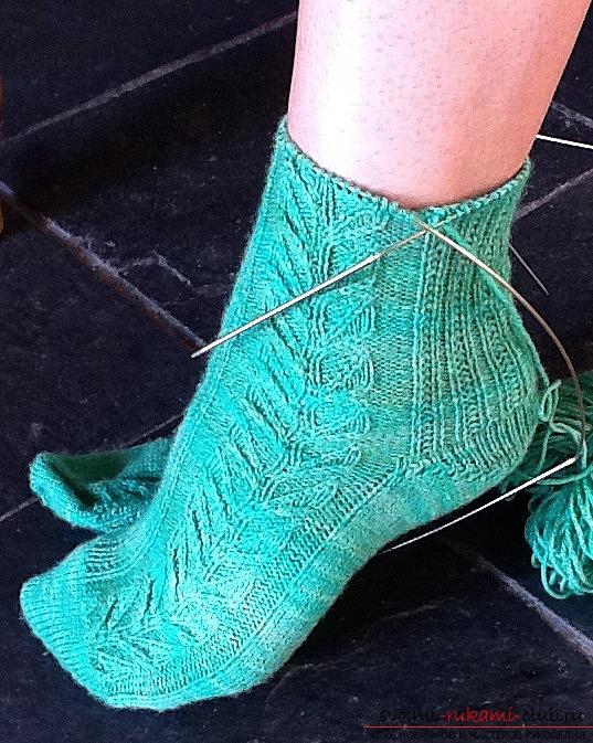 вязание носков на 2 берсанова
