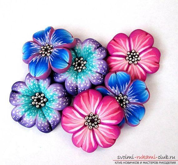 Цветы из бисера, схемы,