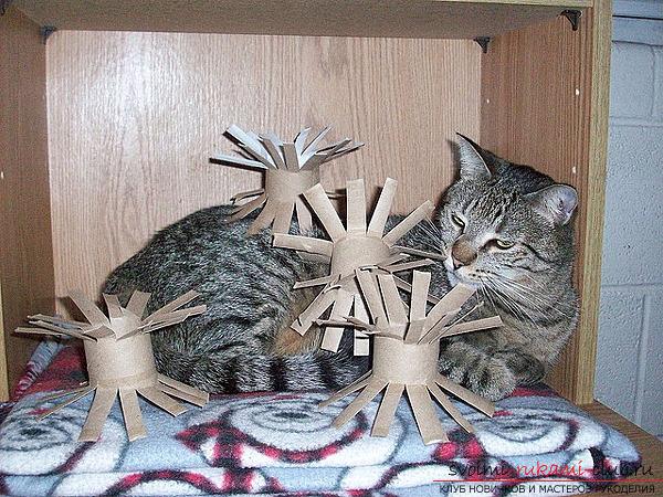 Как сделать игрушку котенка своими руками