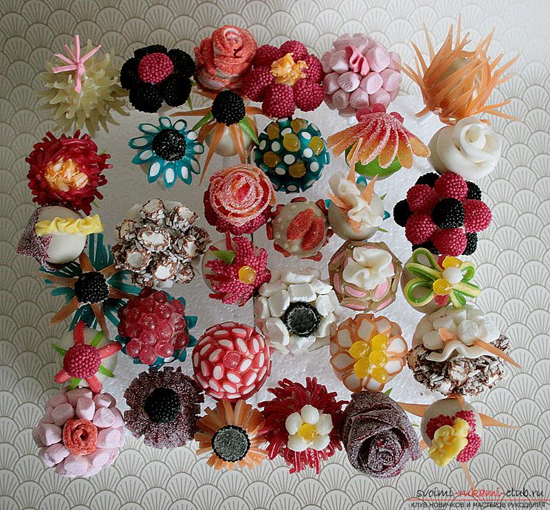 Цветы из фотографий своими руками