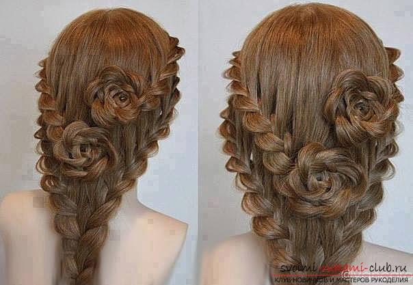 Прически на выпускной своими руками на длинные волосы пошагово фото