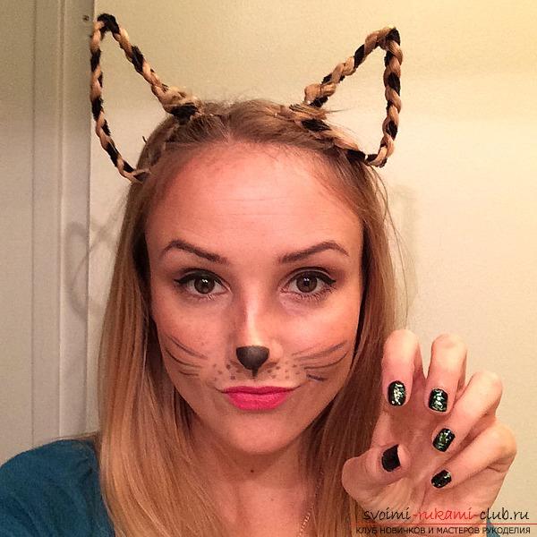 Как сделать прическу на хэллоуин для девочки