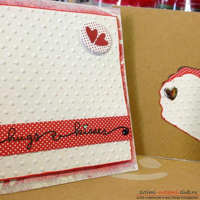 Как сделать открытку с конвертиками для пожеланий 29