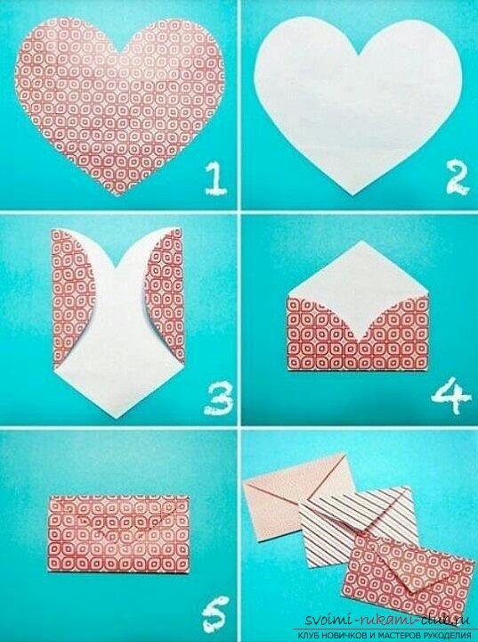 Как сделать конверты своими руками на новый год