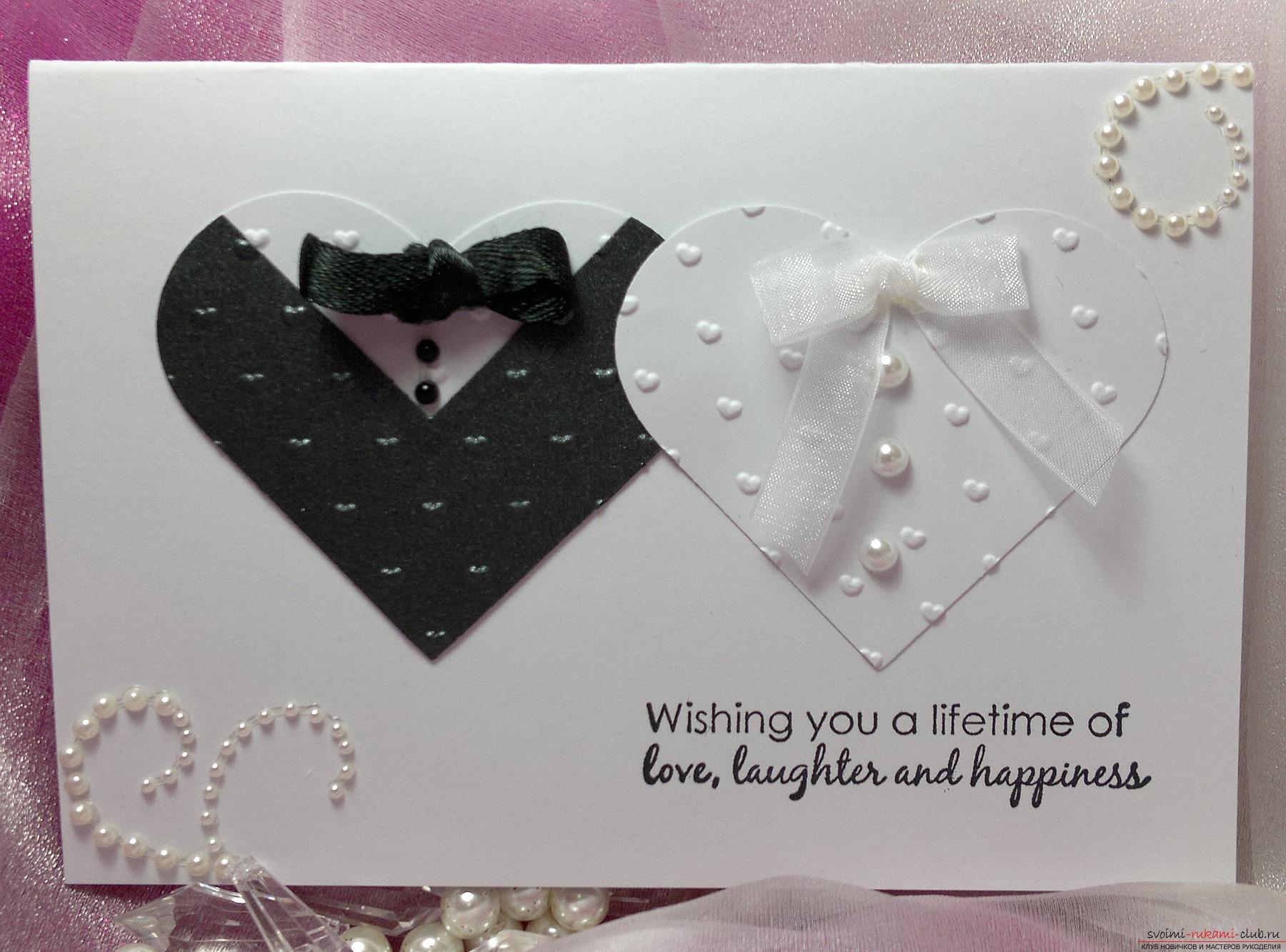 Подарок на свадьбу с фото своими руками