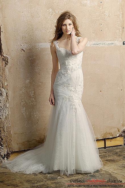 Свадебные платья своими руками. Уроки и фотографии красивых вариантов