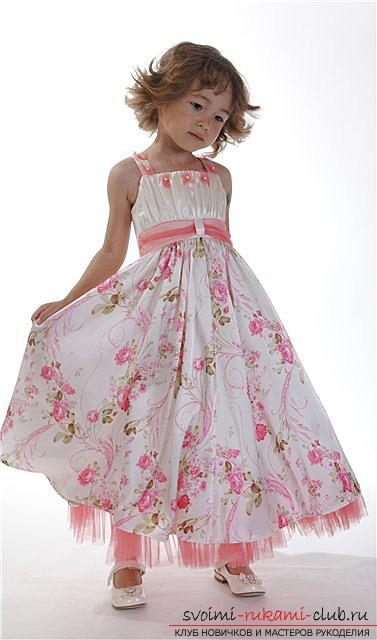 Выкройки летних фасонов платьев