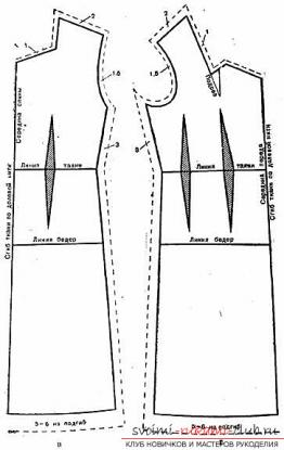 Построение выкройки сарафана девочки фото 358