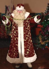 Орнамент костюма деда мороза своими руками фото 66