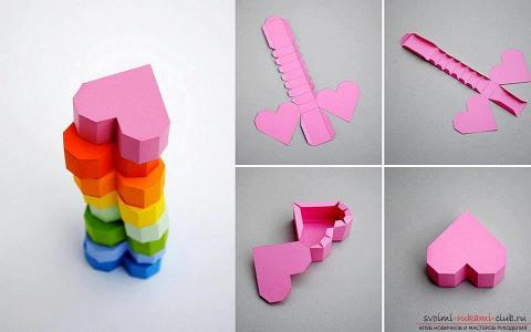 Как сделать оригами из бумаги сердце коробку