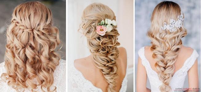 Косы для длинных волос фото