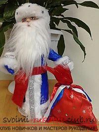 Смотреть новогоднею поделку для 3 класса дед мороз