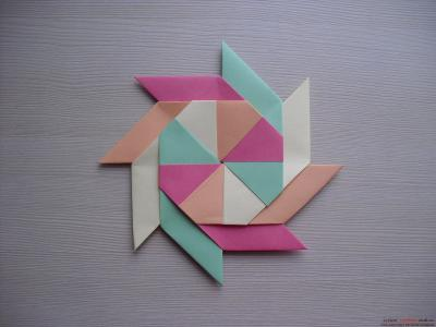 Смотреть поделки для нового года год козы оригами