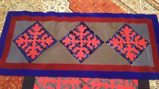 Лоскутное шитье по казахский 2