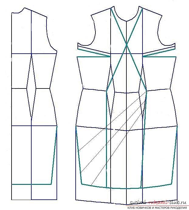 Школа шитья платья выкройки