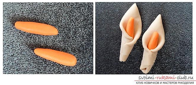 Как украсить бокалы полимерной глиной и как сделать кольца для салфеток из термопластики.. Фото №14