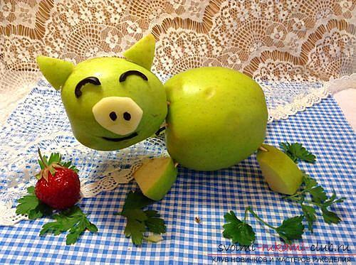 Поделки из овощей своими руками с инструкцией и фото для