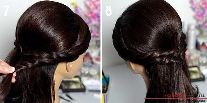 Красивые простые прически на средние волосы своими